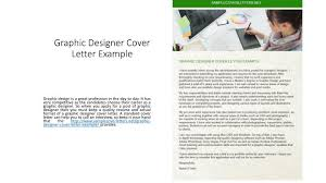 ppt graphic designer cover letter example powerpoint