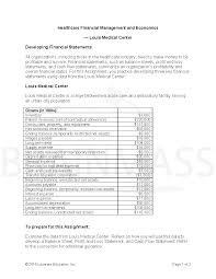 louis medical center financial statements
