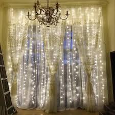 kwb led window curtain icicle lights 300 led string lights