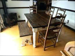 table de cuisine bois table carrelace cuisine modele de table de cuisine en bois table