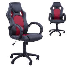 desk chair gaming gt racing design office swivel chair leather executive computer