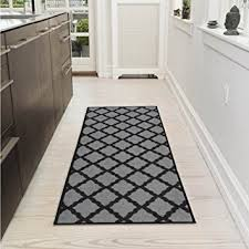 Trellis Kitchen Rug Ottomanson Collection Contemporary Moroccan