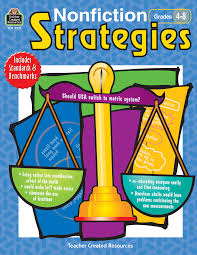 nonfiction strategies grades 4 8 tcr3271 teacher created resources