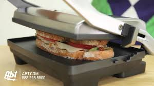 Breville Sandwich Toaster How To Use The Breville Panini Press Bsg520xl Youtube