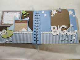 baby boy photo album creations and crafts scrapbook mini album sold out