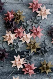 Us Home Decor by Beautiful Paper Star Ornaments Paper Stars Ornament And Tree
