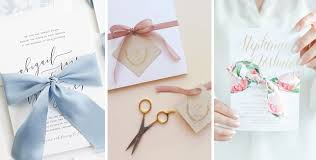 Wedding Programs With Ribbon 10 Different Ways To Add A Diy Wow Factor To Your Wedding