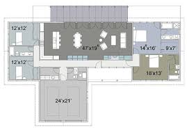 t shaped house floor plans 8 cliff may inspired ranch house plans from houseplans com retro