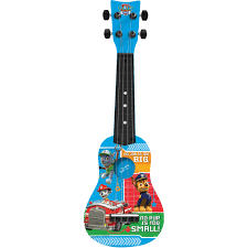 first act nickelodeon paw patrol mini guitar pp286 blue walmart com