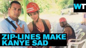 Zip Meme - sad kanye zip lining meme what s trending now youtube
