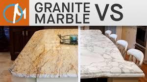 marble kitchen countertops vs granite kitchen design