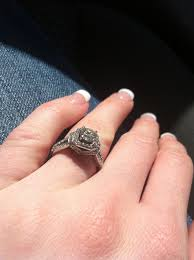1k engagement rings lets see those lovely 1 carat rings weddingbee