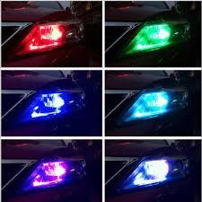 car dome light bulbs t10 6smd 5050 rgb led car interior light bulbs w remote control