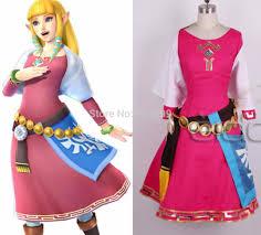 Zelda Costumes Halloween Popular Cosplay Princess Zelda Buy Cheap Cosplay Princess Zelda