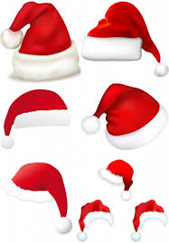 christmas hats vector free vector in encapsulated postscript eps