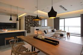 decorating ideas for open living room and kitchen stunning 40 decorating open plan kitchen living room design ideas