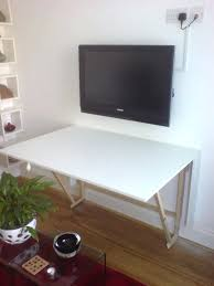 fold away drawing table fold up desks smart furniture pertaining to desk ideas 13