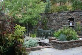 Backyard Sitting Area Ideas Water Conservation In The Garden Principles Of Xeriscaping