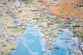 middle east map india map of india and the middle east stock photo istock