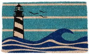 Lighthouse Rugs Entryways Lighthouse Doormat U0026 Reviews Wayfair