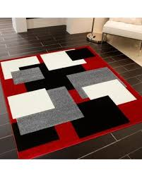 Brown And Black Rugs Big Deal On Allstar Rugs Red Modern Geometric Grey And Black