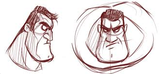 draw how to draw macho men and overweight characters cartoonsmart com