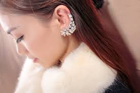 earrings cuffs ear cuff earrings are hot now