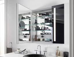 Bathroom Ideas Bathroom Medicine Cabinet With Black Mirror On The Organize Your Grooming Space Kohler Ideas