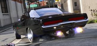 gta 5 dodge charger dom s 1970 dodge charger furious 7 working blower add on