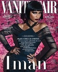 Magazine Vanity Fair Iman Vanity Fair Magazine July 2015 Cover Photo Italy