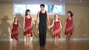 kids samba samba lesson how to do the basic samba walk in step