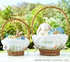 easter basket liners personalized personalized easter baskets personalized baskets easter baskets