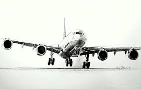 drawing airbus a340
