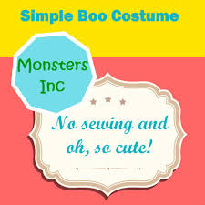 Monsters Inc Costumes Boo Monsters Inc Costume Scoop It