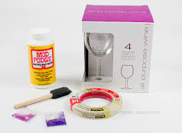 how to personalize a wine glass personalized holographic glitter wine glasses mod podge