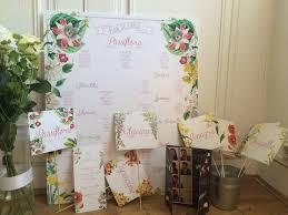 noms de table mariage faire part de mariage fanion fleurs et ardoise