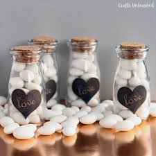 wedding favors diy diy milk bottle wedding favors crafts unleashed
