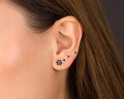 climber earrings silver ear climbers climber earrings