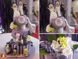 wedding cake bandung wedding anniversary cake of sugar