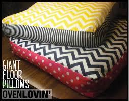 Floor Cushions Decor Ideas Friday U0027s Fantastic Finds Floor Pillows Giant Floor Pillows And