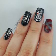 nails by jema my sons of anarchy nails