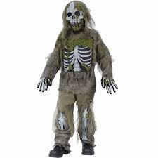 skeleton zombie child halloween costume walmart com