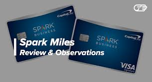 Visa Business Card Capital One Spark Miles For Business Card Review Good Credit Card
