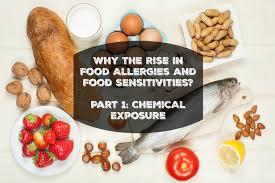 how chemicals increase food allergies and food sensitivities