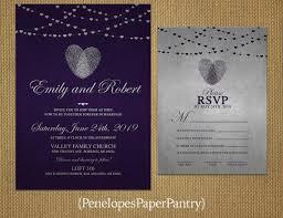 Wedding Invitations Purple The 25 Best Silver Wedding Invitation Sets Ideas On Pinterest