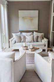 white and gray long sunroom design transitional living room