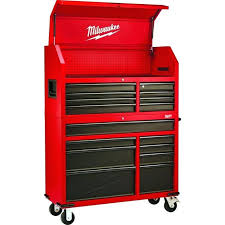 46 in 16 drawer tool chest and rolling cabinettool box side