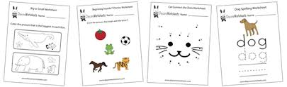daycare worksheets free preschool worksheets to print
