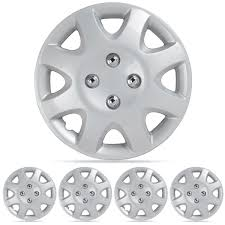 nissan altima wheel covers wheel covers fit 95 01 honda civic hubcaps 4pc silver 14