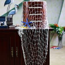 compare prices on fishing room decor online shopping buy low the mediterranean sea style mural decor diy wall sticker big fishing mesh net decoration wall hangings